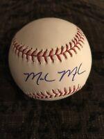 Mark Melancon San Francisco Giants Autographed Major League Baseball OML