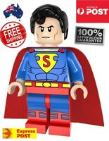 SuperMan Mini Figure FREE SHIPPING DC Comics Character Collectable Quality  NEW