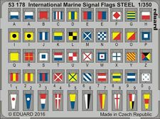 Eduard pe 53178 1/350 international marine signal flags acier
