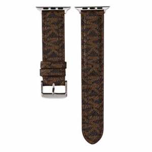 Apple Watch MK Leather 38 40 42 44 mm Michael Luxury Band Strap Series 1 2 3 4 5