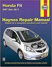 Haynes HONDA FIT / JAZZ (07-13) SPORT BASE Owners Manual Service Repair Handbook