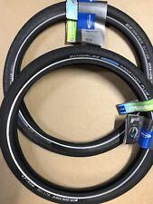 Pair Schwalbe Marathon Plus 20 X 1.75 Tyres