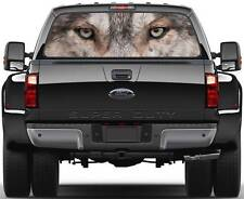 Wolf Head Eyes Window Graphic Decal Sticker Truck SUV Van Car