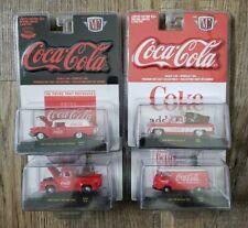M2 Machines Lot of 4 Coca Cola Cars *MIB*
