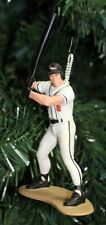 Cal Ripken, Jr. White Uniform At Bat Baltimore Orioles Christmas Tree Ornament