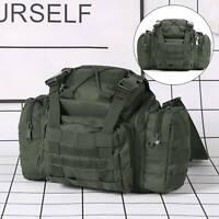 Fishing Tackle Bag Case Sack Carryall Waist/Shoulder Sea/Carp Waterproof Green