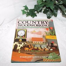 COUNTRY WOODWORKING OVER 35 EASY TO MAKE ACCENT PIECES HB BOOK PATTERNS HOW-TO