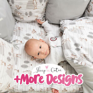 FOREST 3 or 5 pc BABY BEDDING SET fit Cot 120x60cm / Cot Bed 140x70+MORE DESIGNS