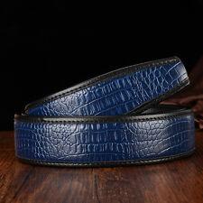 119cm Alligator Ceinture, CROCODILE CUIR PEAU HOMME CEINTURE ou boucle ceinture