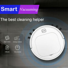 Home Robotic Vacuum Cleaner Smart Vacuum Robot Cleaner Automatic Sweeper White