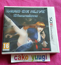 DEAD OR ALIVE DIMENSIONS NINTENDO 3DS NEUF VERSION FRANCAISE BLISTER ABIME