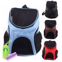 Small Pet Dog Cat Carrier Backpack Mesh Adjustable Carrier Travel Shoulder Bags