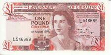 Gibraltar  1 Pfund  1988   kassenfrisch
