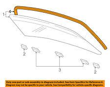 AUDI OEM 04-10 A8 Quattro Rear Window Glass-Reveal Molding 4E0853305A