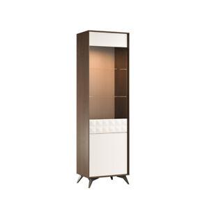 Moderne Vitrine Armoire Vitrines Salon Regard Design Armoires Verre Meuble Neuf