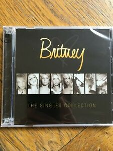 Britney Spears The Singles Collection (Two Disc) - CD / DVD UK Sealed!