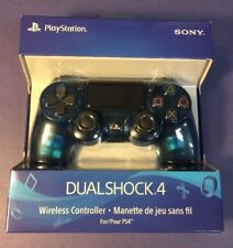 Official Sony DualShock 4 Wireless Controller [ Crystal BLUE Edition ] NEW