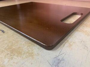 """1/4"""" Seasoned Pizza Steel Plate, 1/4"""" x 16"""" x 16"""", A36 Steel"""