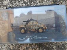 "TANK ""SD.KFZ. 222 10.PZ.DIV. TUNIS TUNISIA - 1943"" 1/72"