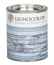 Lignocolor Shabby Versiegelung | Lack | Klarlack | Chalky Finish | matt | 750ml