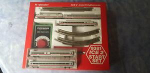 Fleischmann N ICE 2 Start-Set 9381+7455K und 7457K, gebraucht, OVP