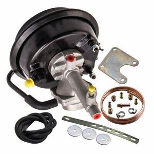 VH44 Remote Brake Booster + Bracket Mounting Kit For 4 Wheel Drum Brake Datsun