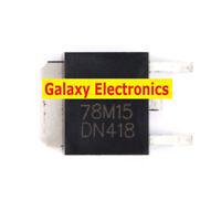 10pcs 78M15 three-terminal regulator circuit TO-252 electronic components