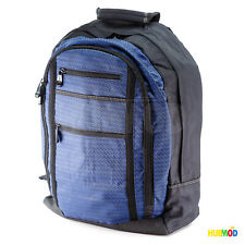 """Dell Black / Blue Laptop Backpack Fit 15"""" Notebook, iPad Pro. Good Padding"""