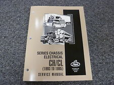 1993 1994 1995 Mack Truck CH CL Chassis Electrical Shop Service Repair Manual