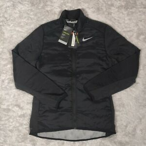 Nike Aerolayer Lightweight Running Jacket Mens Size Medium Black BV4874-010 NWT
