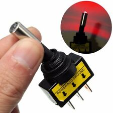 12V 20A  Heavy Duty red LED OFF/ON Rocker Toggle Switch Car