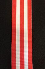 Royal Canadian Legion  Canada 150 Medal, Full Size Ribbon, 12 inches
