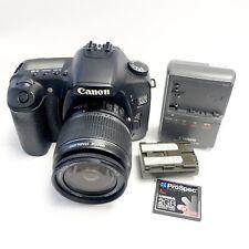 Clean- Canon EOS 30D 8.2MP Digital SLR Camera - Black (Kit w/ EF-S 18-55mm Lens)