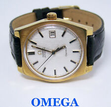 Vintage OMEGA GENEVE Automatic Watch 1970s Cal.1480* 166.099* EXLNT* SERVICED