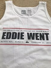 NWOT QUIKSILVER EDDIE AIKAU WOULD GO 2016 WAIMEA BAY HAWAII EDDIE WENT TANK TOP