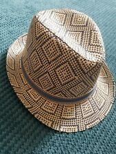 3-6 years boy summer party casual formal hat from monsoon BNWT