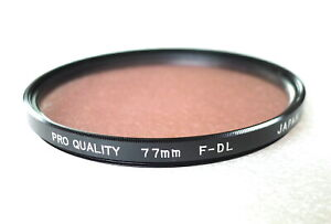77mm PRO-QUALITY Fluorescent F-DL Filter - NEW