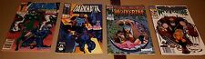 Marvel Comic Lot 4 Issues Wolverine, Ghost Rider & Cable, Darkhawk 1991