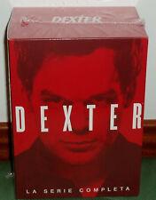 DEXTER-LA SERIE COMPLETA-1-8 TEMPORADAS COMPLETAS-35 DVD-NUEVO-NEW-PRECINTADO