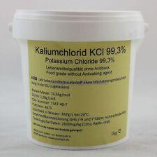 Aqua Light Kaliumchlorid KCl E508 1000g  8,95€/kg