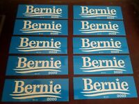 Bernie Sanders 2020 for President Bumper Sticker  12 Pack Made In USA