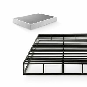 Victor 9 Inch Quick Lock High Profile Smart Box Spring Steel Structure Twin Size