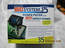 Imagine Bio System 35: Power Filter and OXY Surface Skimmer  up to 35 Gal Tank