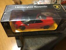 Braha Rc Radio Control Lamborghini Reventon 1/14th scale Red New In Box