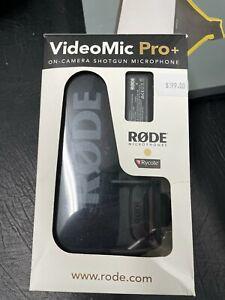VIDEOMIC PRO+ (RODE) ON CAMERA SHOTGUN MICROPHONE- cost $468