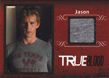 2013 TRUE BLOOD JASON STACKHOUSE /299 COSTUME MATERIAL CARD #C2