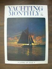 VINTAGE THE YACHTING MONTHLY MAGAZINE OCTOBER 1974