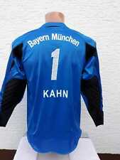 Bayern München Torwart Trikot Adidas Oliver Kahn Shirt Jersey Goalkeeper 164 XS