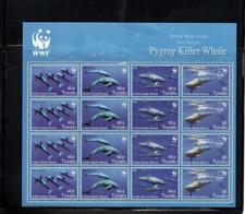Tuvalu topical (whales) mnh sov sheets- cv $66.00