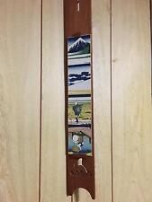 Hokusai wood frame Ukiyo-e strip size